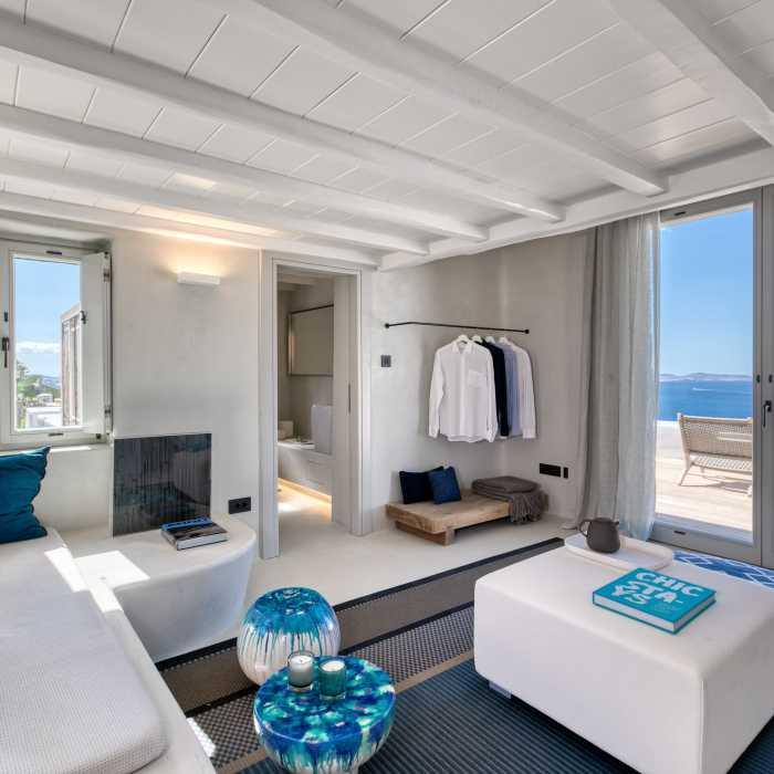 Syros (mezzanine bedroom)