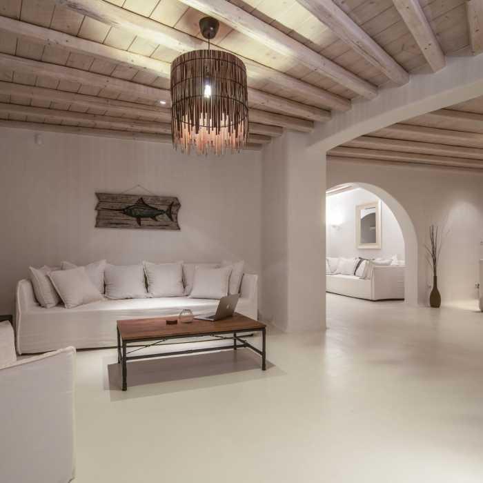 Villa Melmastia Mykonos - Secondary living room