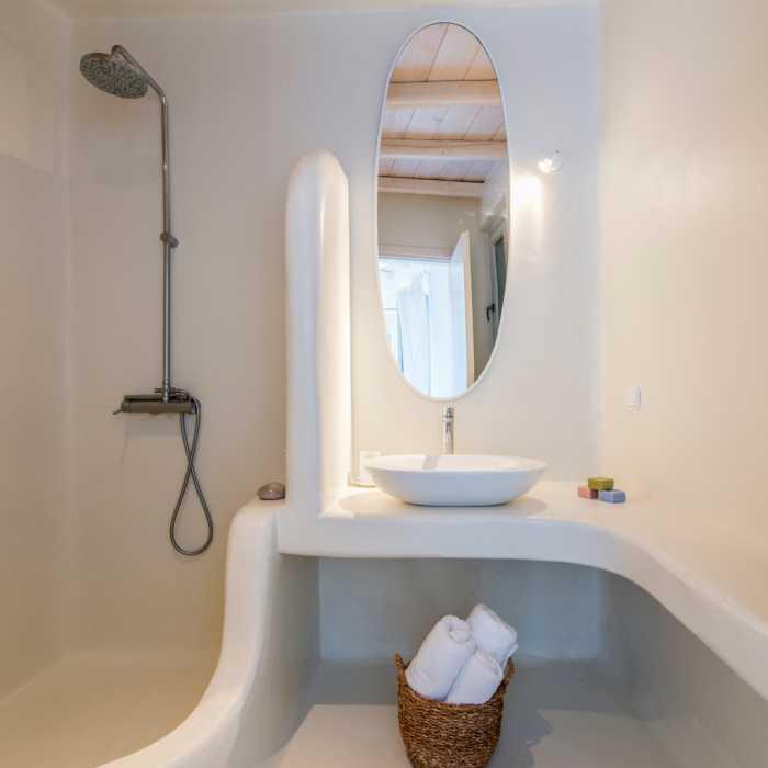 Melmastia Villa Mykonos - Bathroom